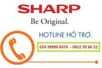 Số điện thoại bảo hành tivi Sharp